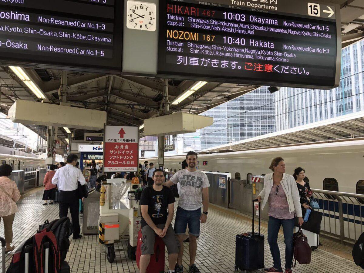 Iban y Aitor en Japón