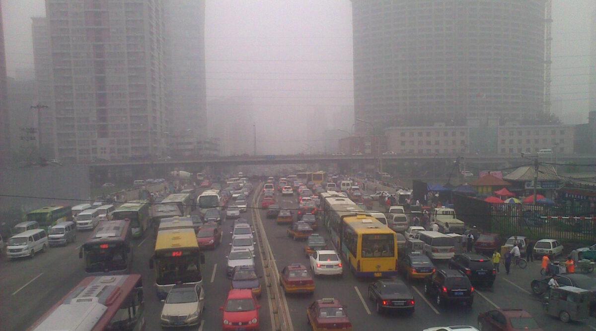 Contaminación por vehículos