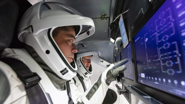 Astronautas de la Crew Dragon de SpaceX